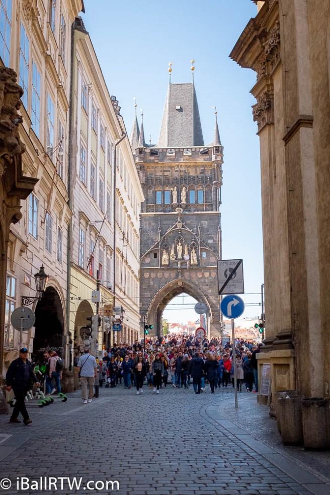 Prague walk