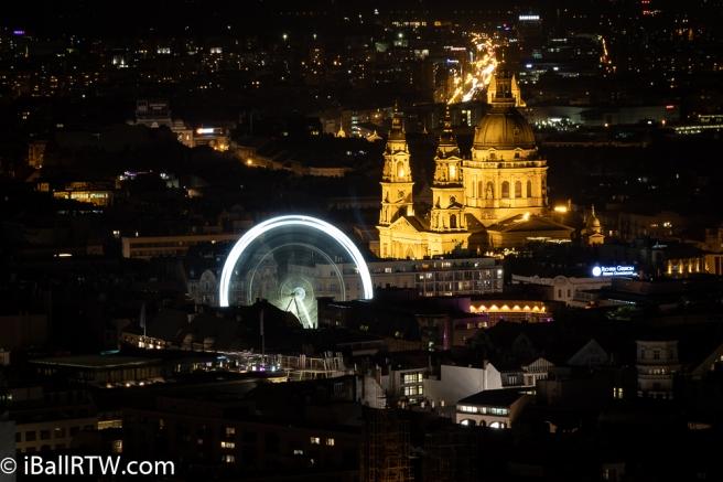 The Budapest Eye from Gellért Hill