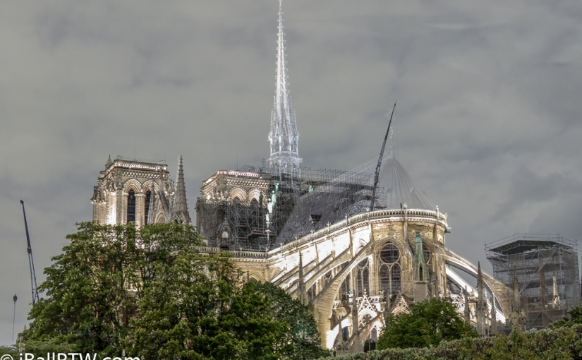 Notre Dame Cathedral Before and After