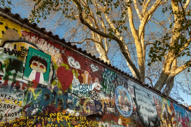 Prague's John Lennon Wall