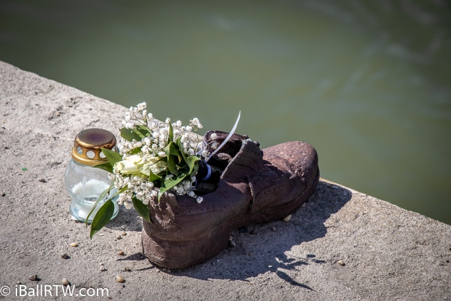 Shoe on the Danube Promenade